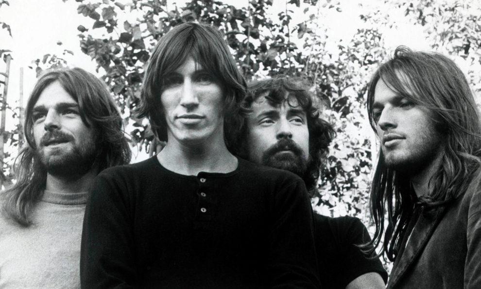 Los cuatro componentes de Pink Floyd: Roger Waters, David Gilmour,...