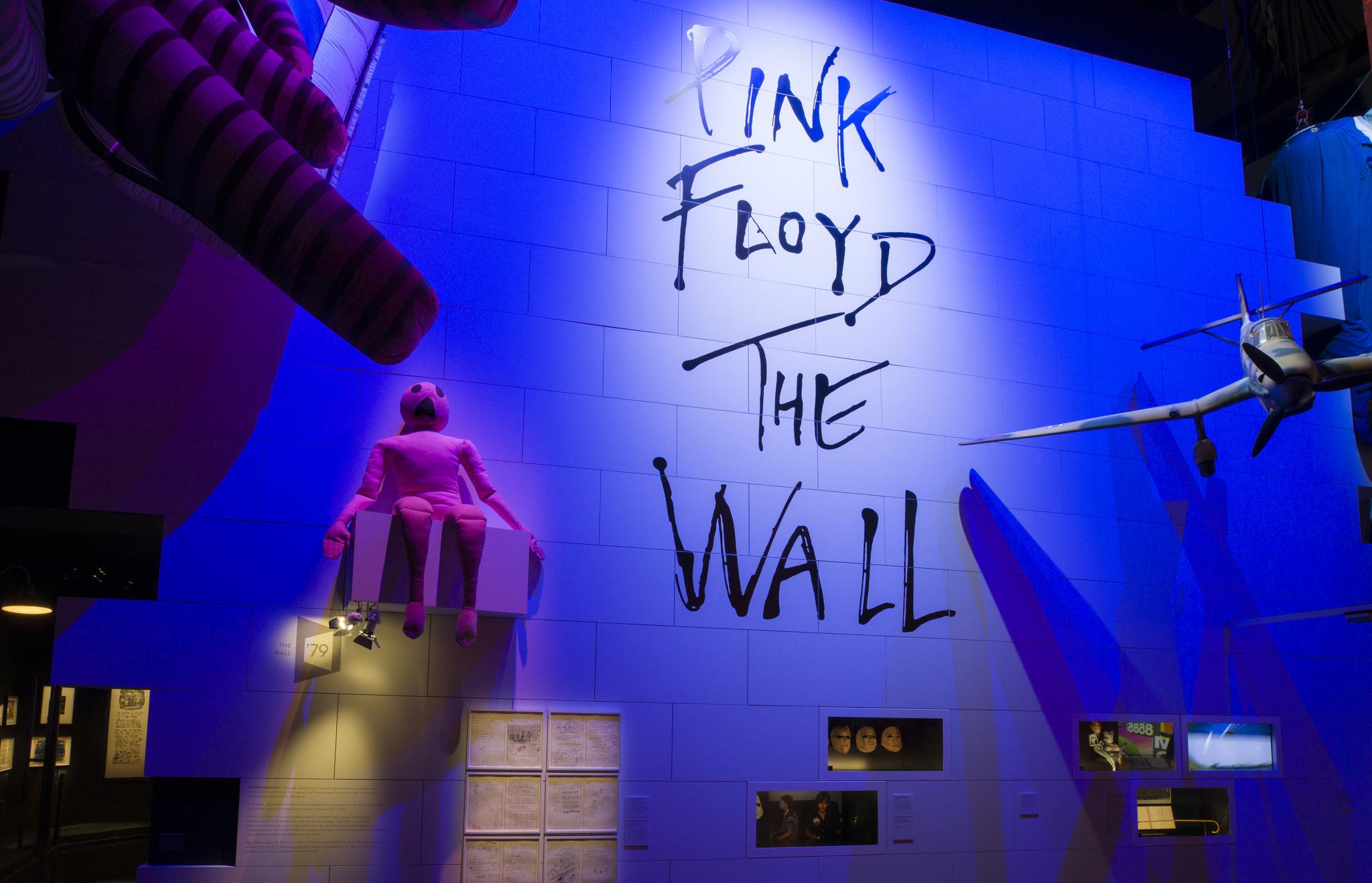 """Uno de los espacios que se podrán ver en la exposición: """"The Wall""""."""