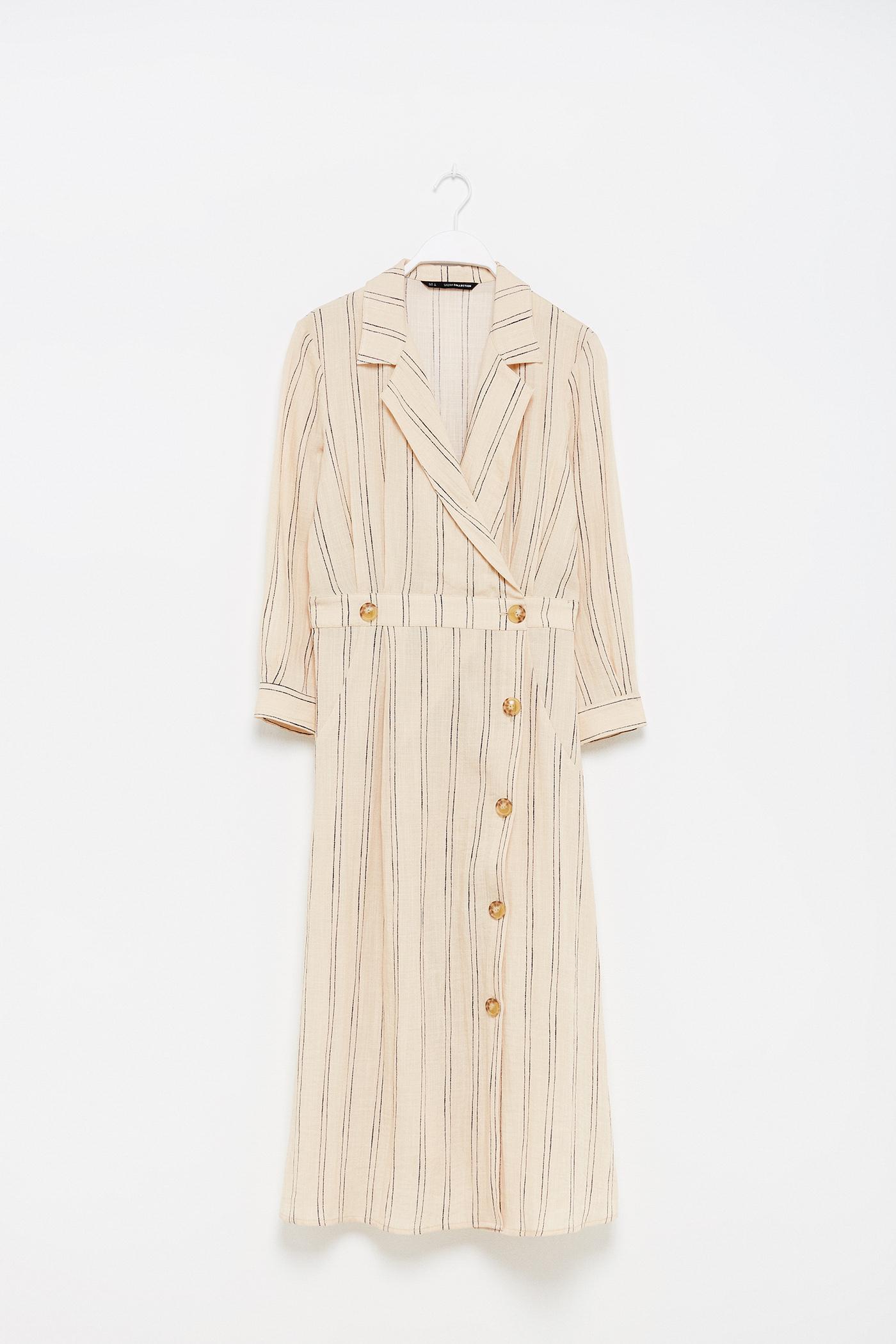Vestido de lino de Sfera
