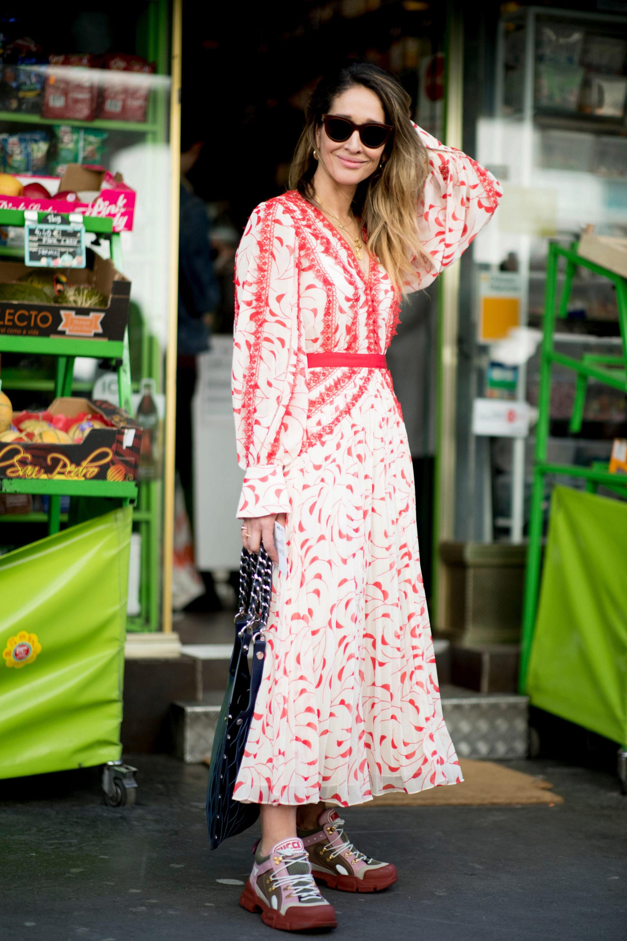 Uno de los estilismos perfectos para la primavera: vestido con...