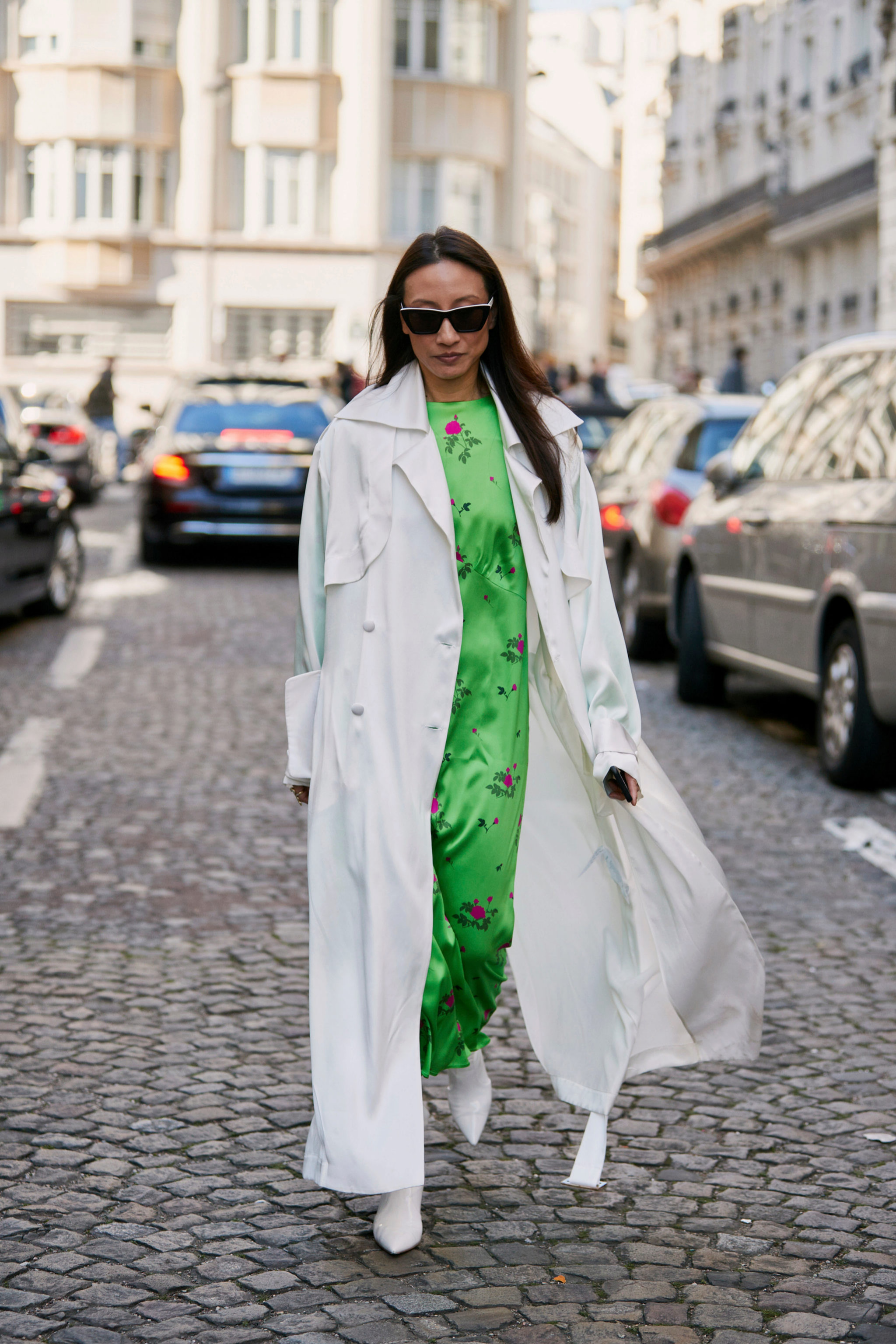vestido street style de París