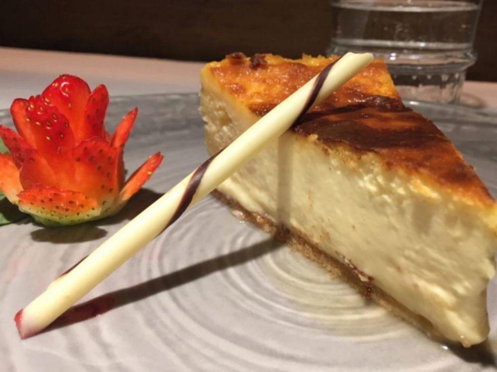 Tarta de queso de La Madreña