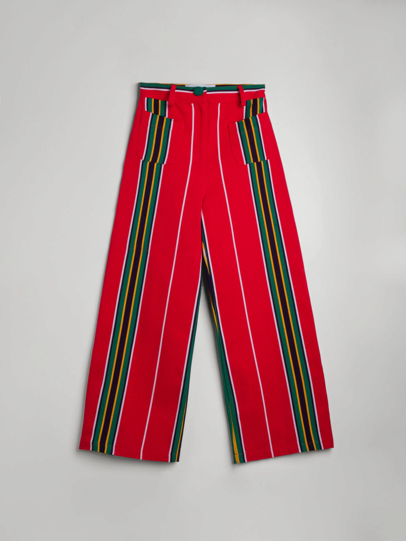 Pantalón culotte con tela de toldo de La Veste