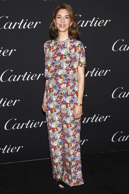 La directora Sofia Coppola en una fiesta de Cartier.