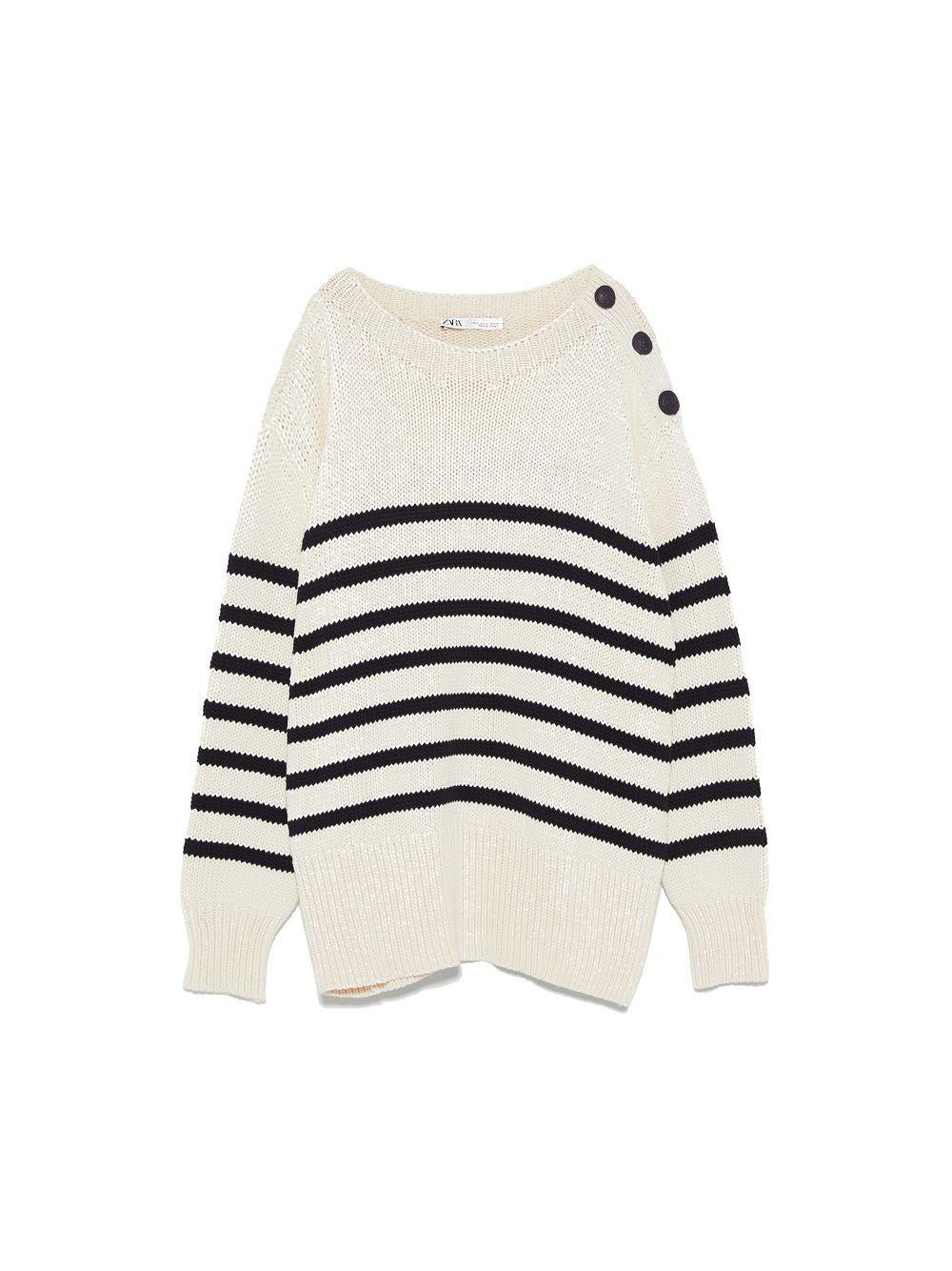 Jersey de rayas de Zara (29,95 euros)
