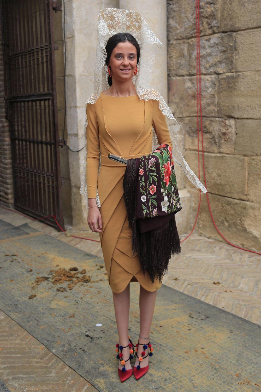 Victoria Federica en la Feria de Abril de Sevilla.