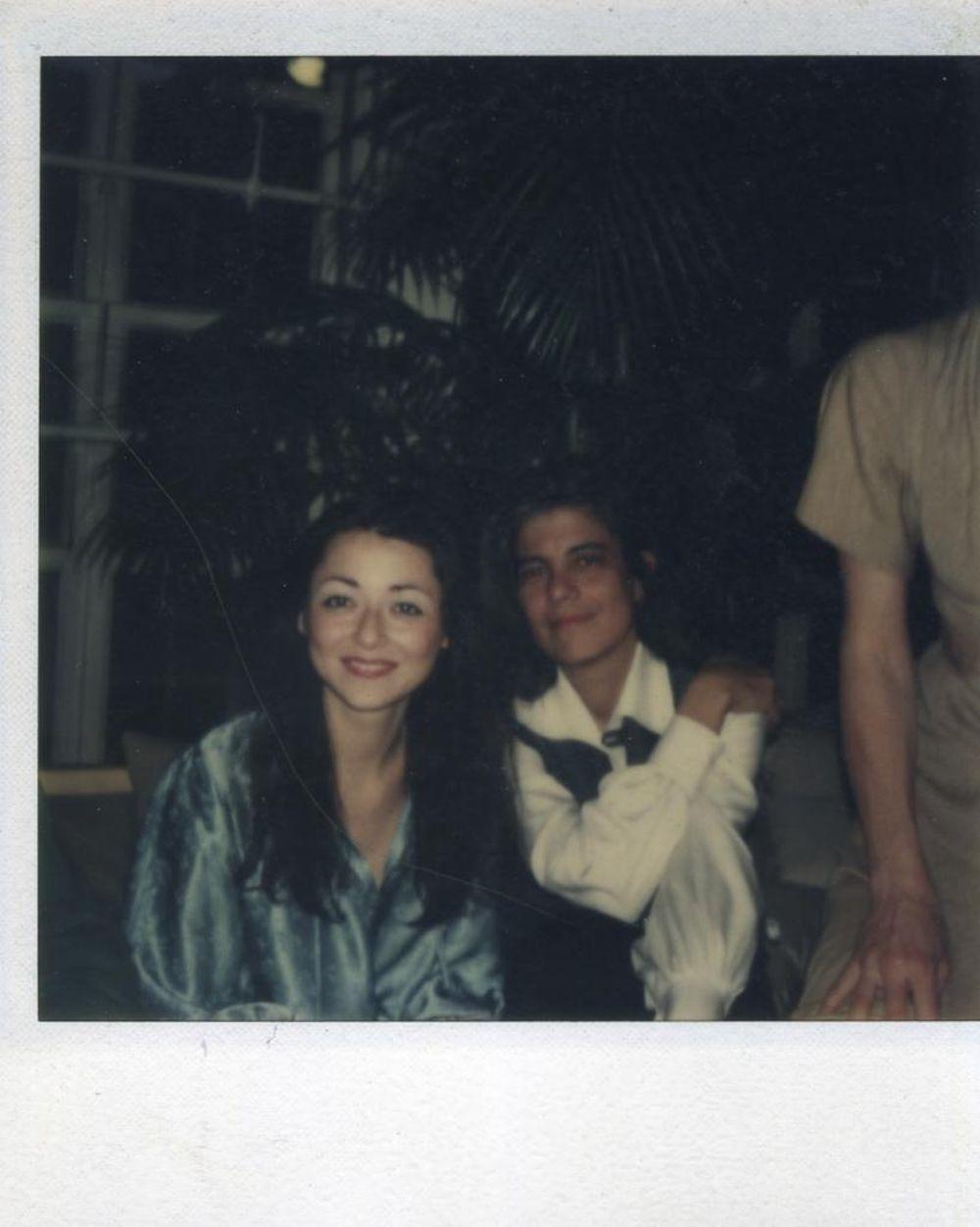 Susan con su gran amiga Sigrid