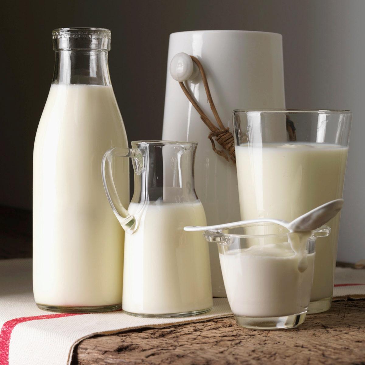 La leche es esencial en una dieta equilibrada.