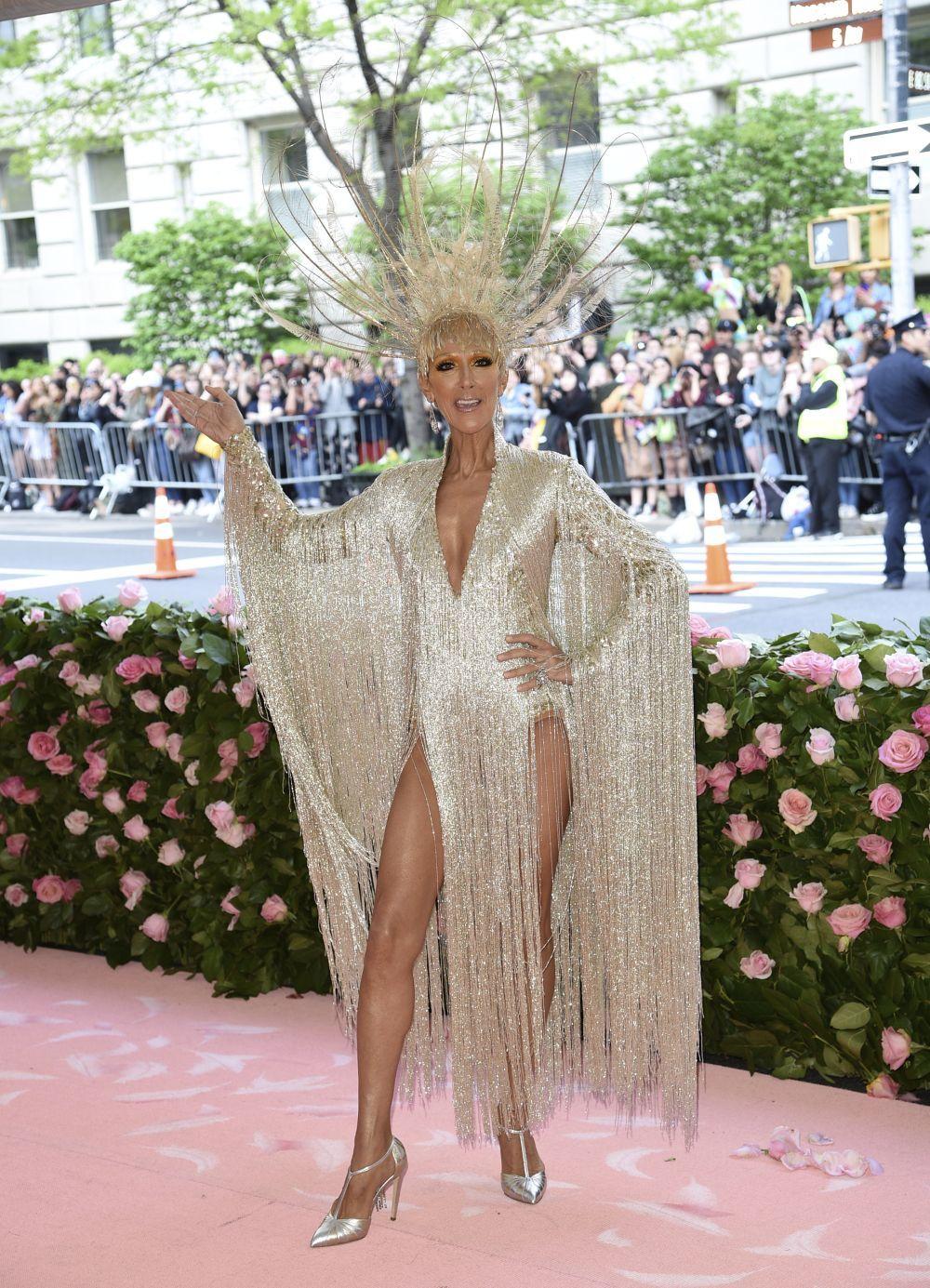 Céline Dion en la Gala MET 2019.