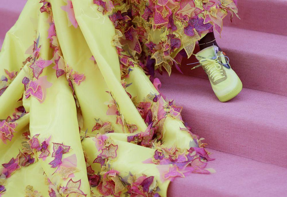 Las zapatillas de Off-White para Nike de Serena Williams en la Gala...