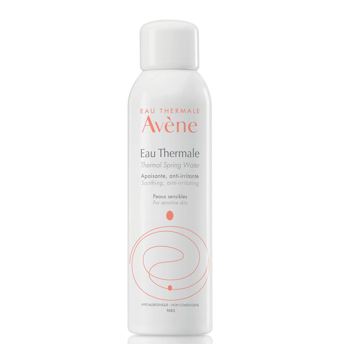 Agua termal de Avène.