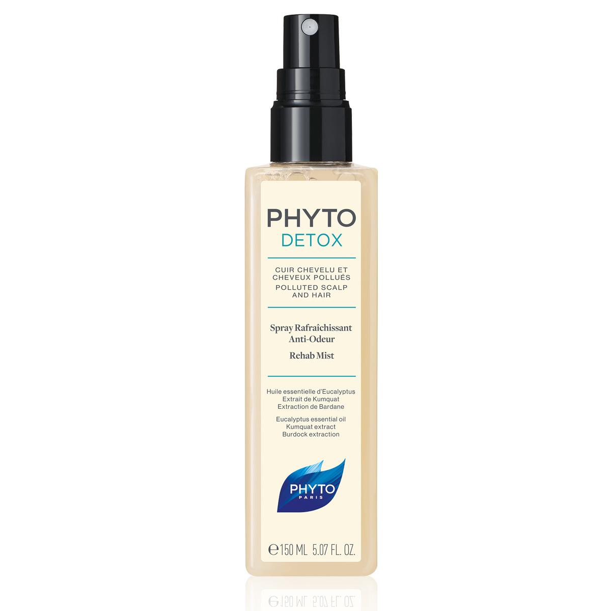 Rehab Mist o Spray antiolor detox de Phyto con eucalipto y bardana.