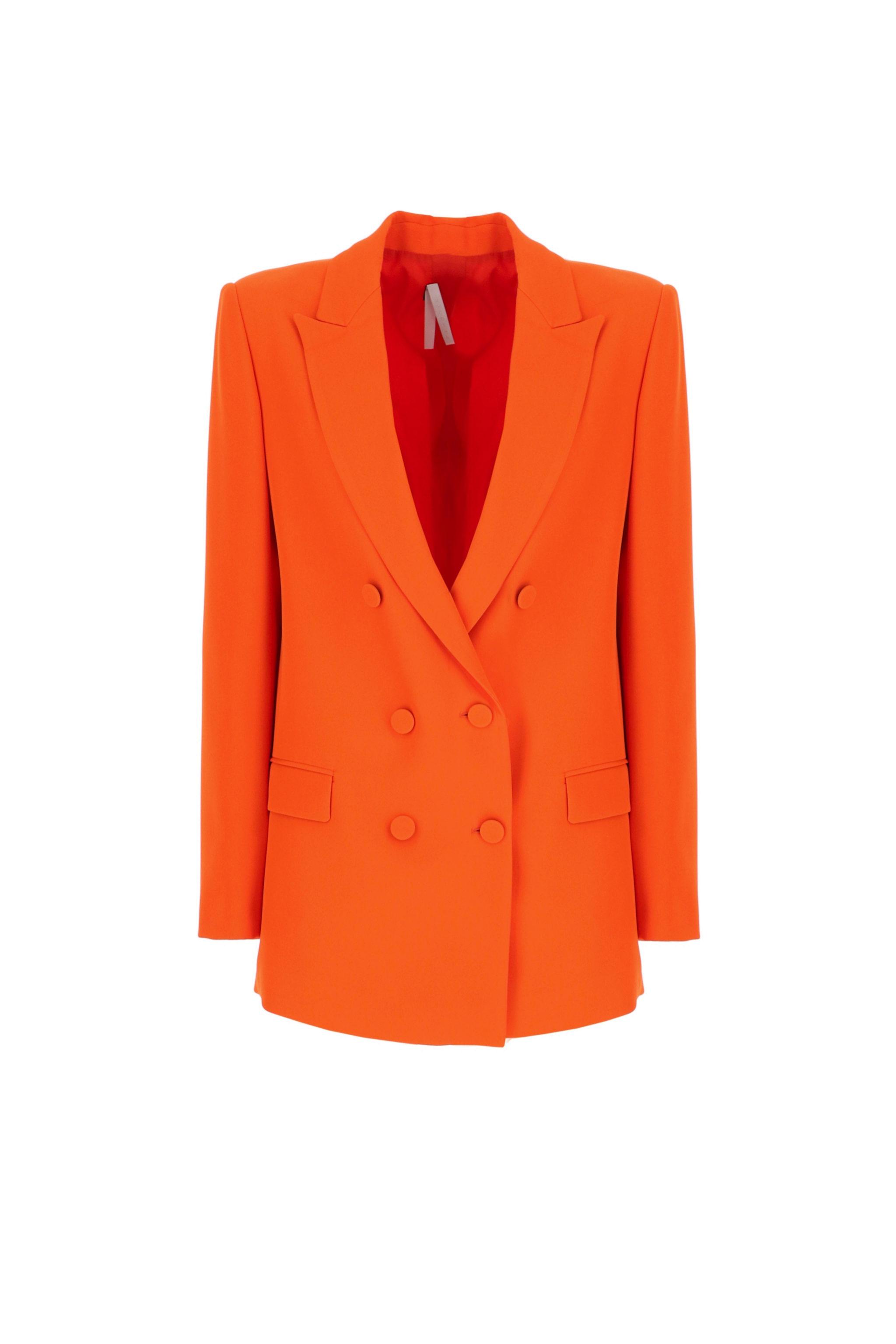 Blazer en color naranja con doble botonadura de Imperial