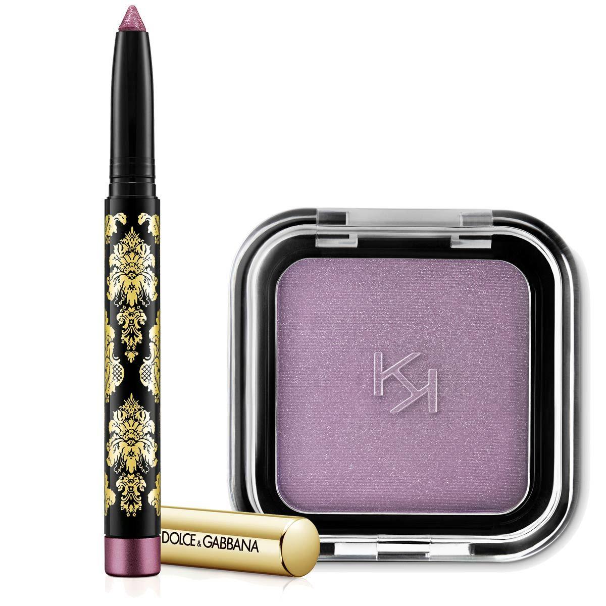 Sombras de ojos rosas y lilas: Creamy Eyeshadow stick, de Dolce &...