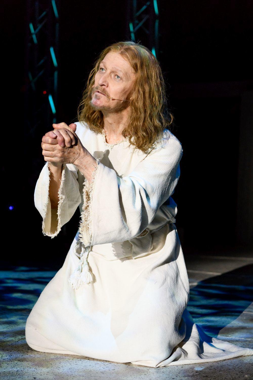 Ted Neeley en el musical Jesus Christ Superstar
