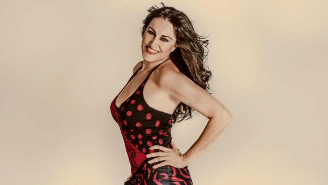 Paloma Gómez, fundadora de Olefit, bailarina y coreógrafa. Lleva...