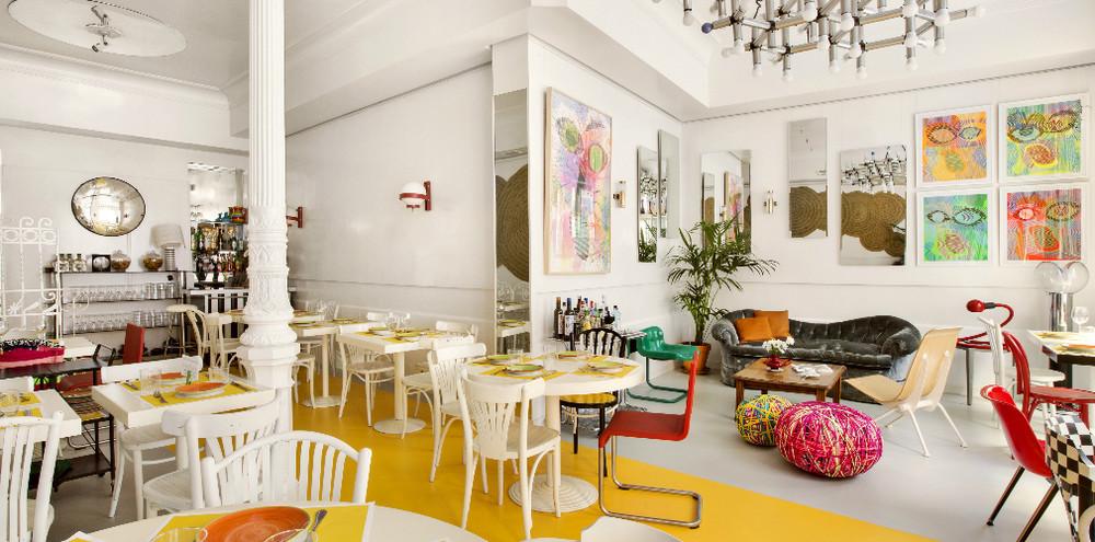 Restaurante La Verónica, en calle Moratín, 38.