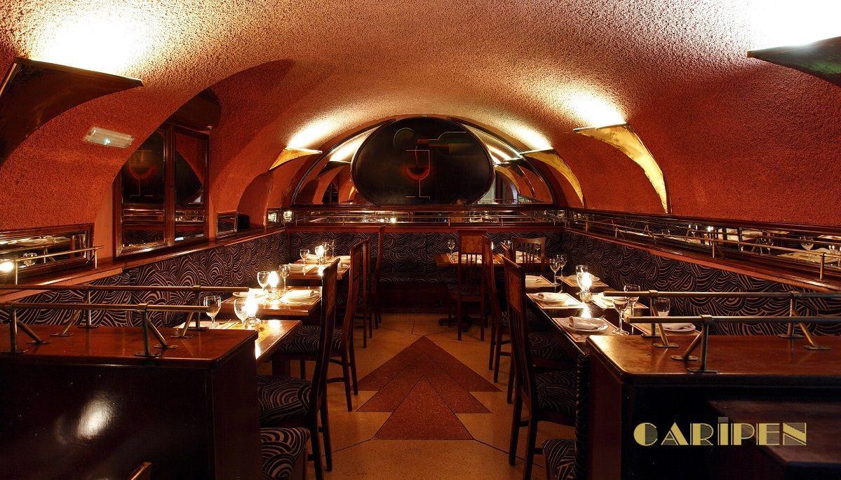 Restaurante Caripen Bistro, en la Plaza Marina Española, 4.
