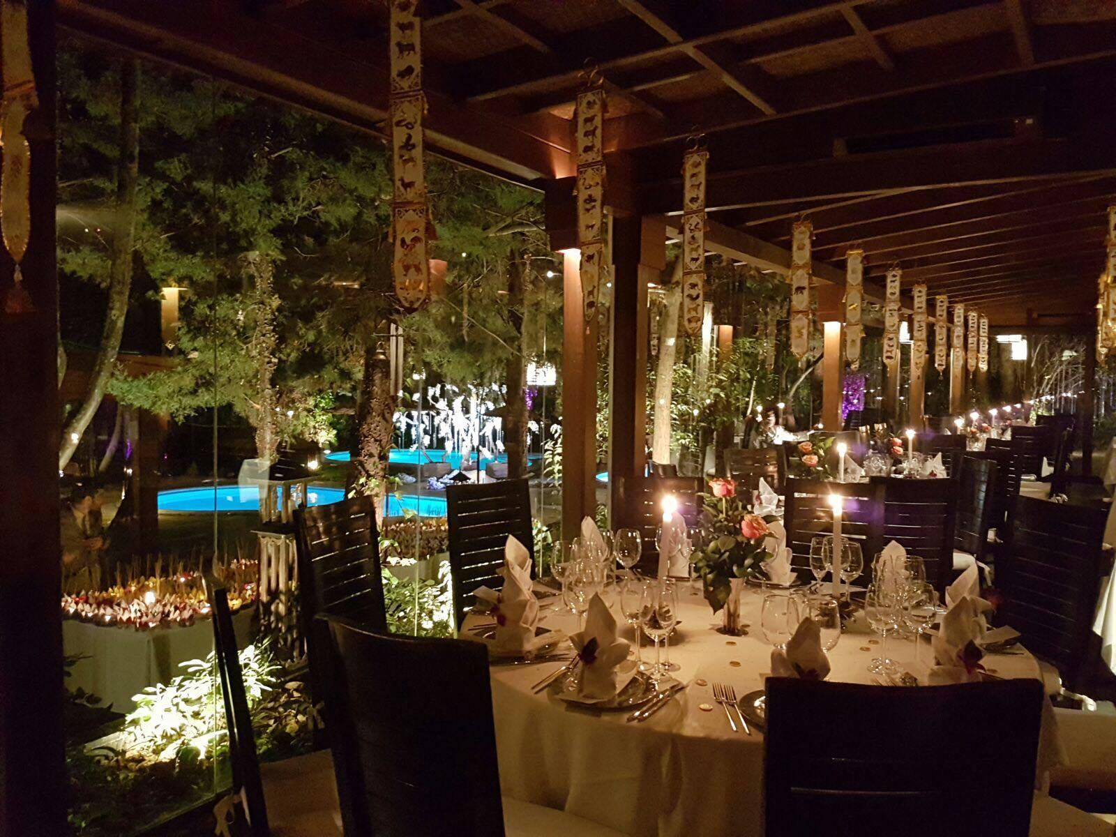 Restaurante Thai Garden, en la calle Arturo Soria, 207.