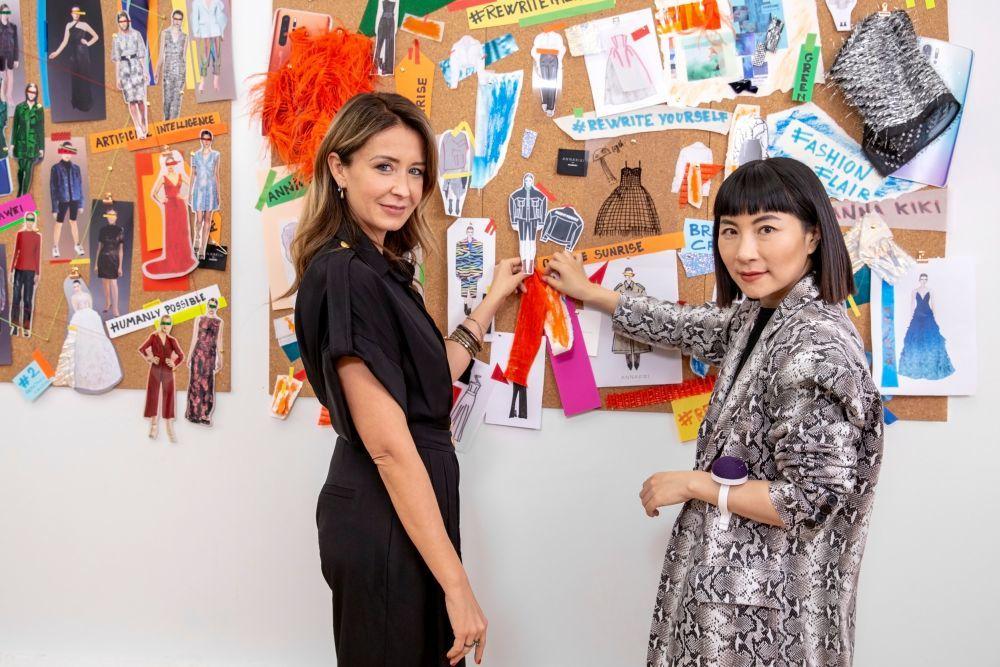 Isabella Lazzini con Anna Yang