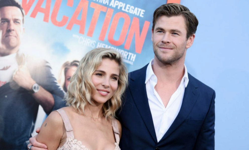 Chris Hemsworth y Elsa Pataky.