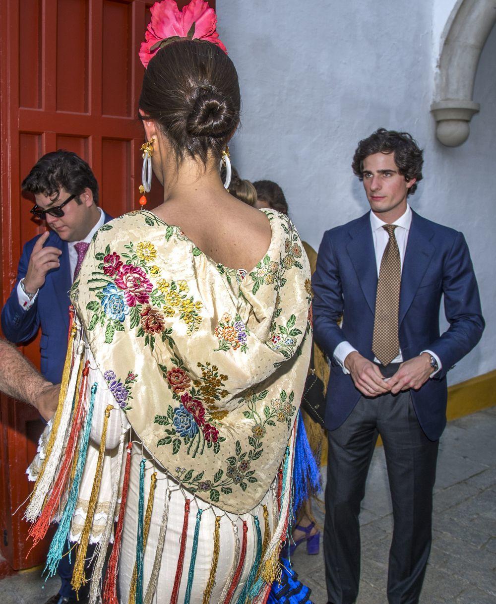 El espectacular mantoncillo de Sofía Palazuelo.