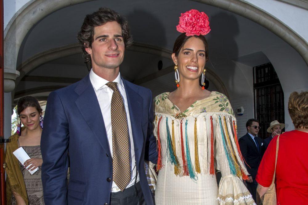 El duque de Huéscar Y Sofía  Palazuelo.