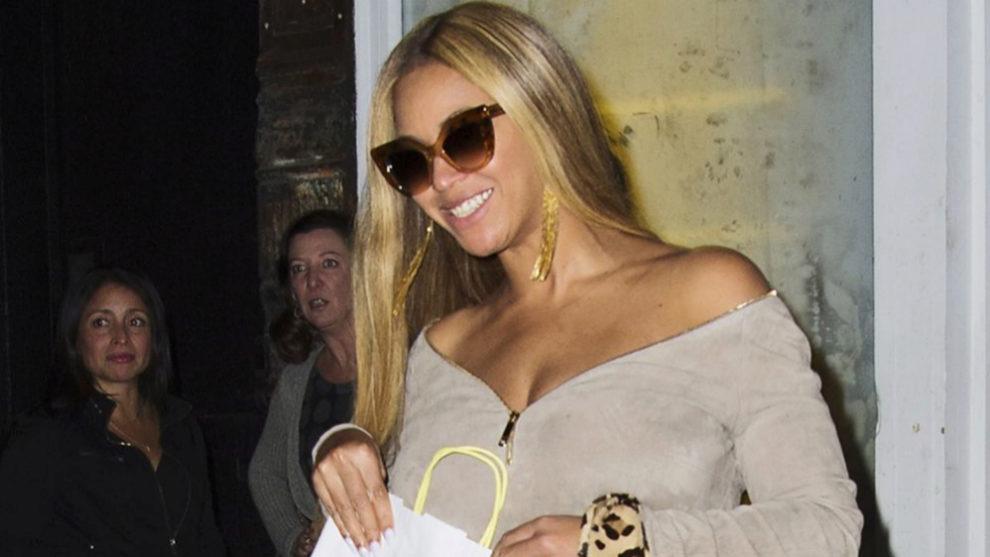 Beyoncé con melena rubia