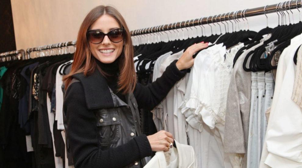 Olivia Palermo de compras.