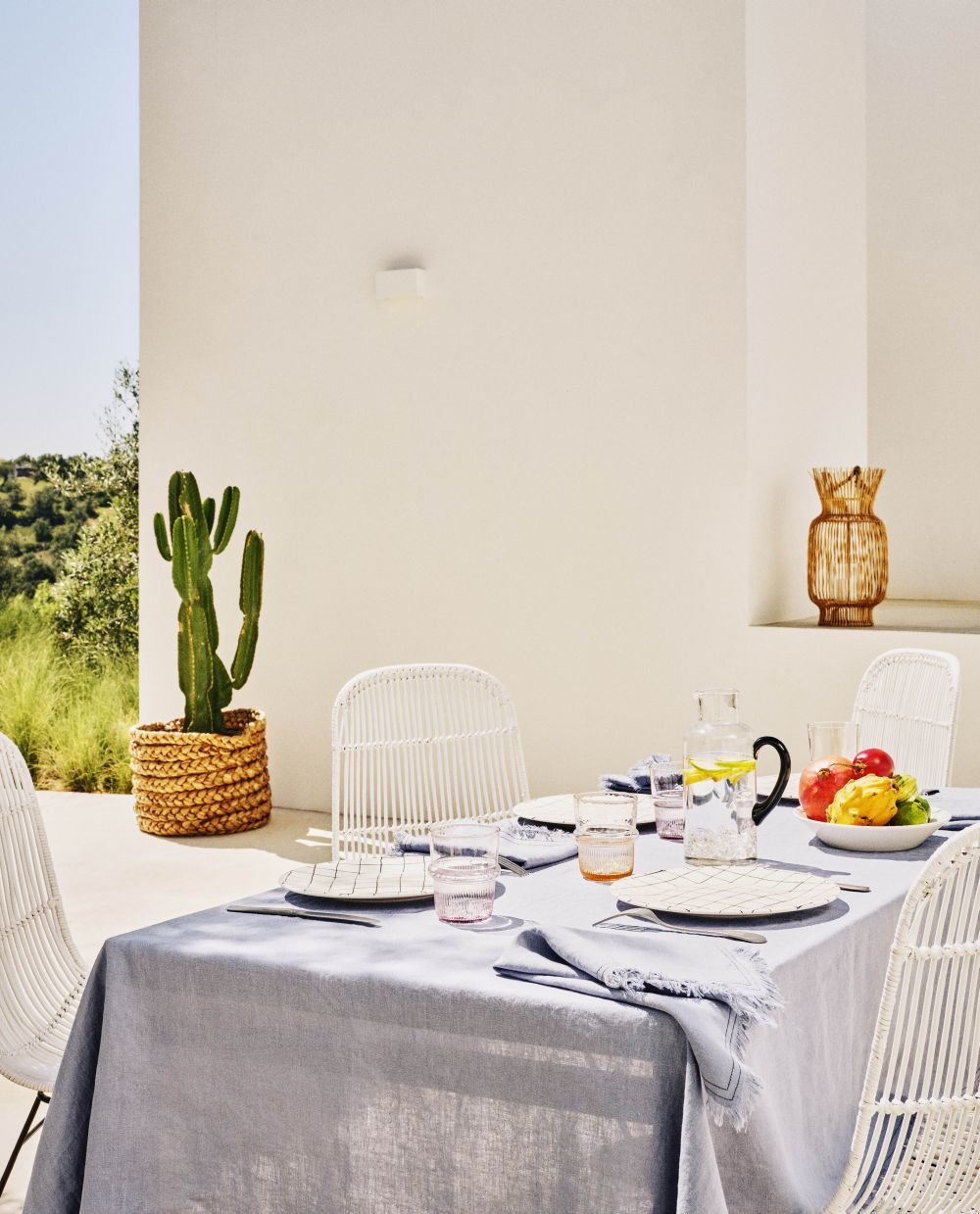 Decoración de mesa de Zara Home.