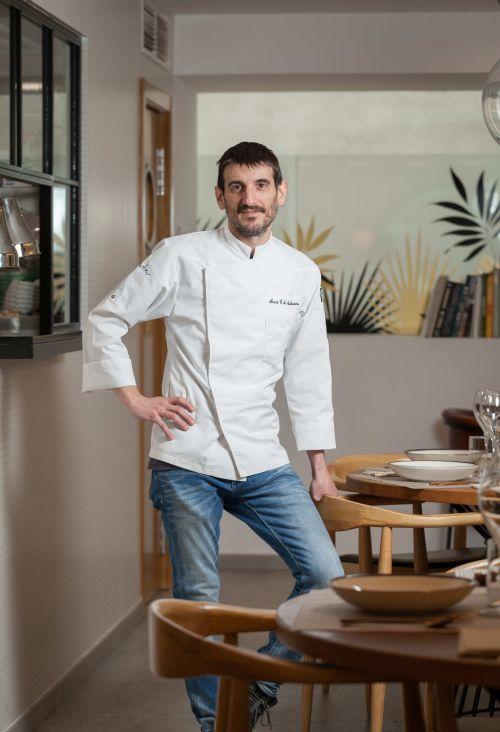 Álvaro González, chef  de Aitatxu