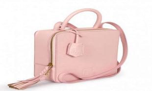 Bolso bandolera en rosa de Leandra Bag