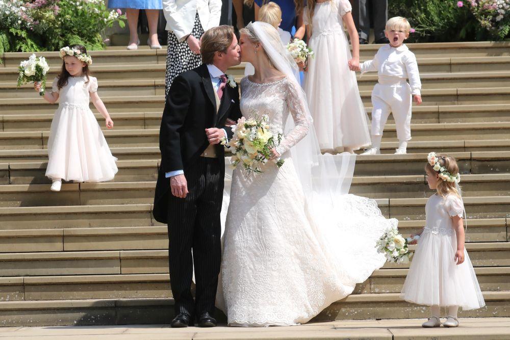 Lady Gabriella Windsor y Thomas Kingston se casan.