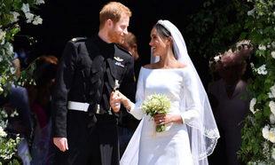 Meghan Markle y el príncipe Harry celebran su primer aniversario de...
