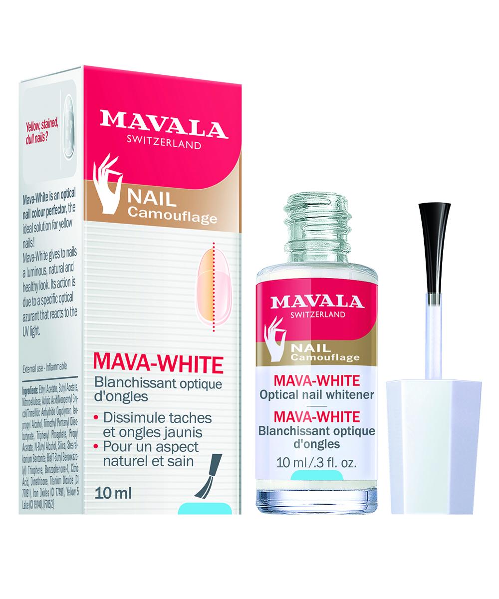 Base de uñas Mava-White de Mavala
