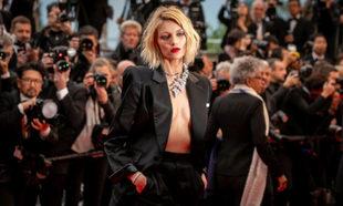 Anja Rubik en Cannes