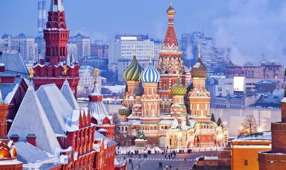 Plaza Roja de Moscú y Catedral de San Basilio