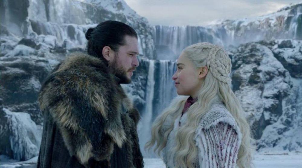 Jon Nieve y Daenerys Targaryen.