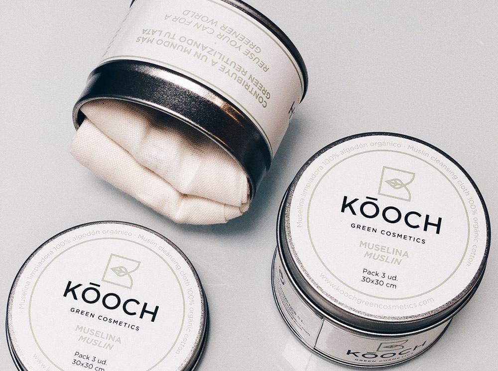 Las muselinas de algodón ecológico certificado de Kóoch Green...