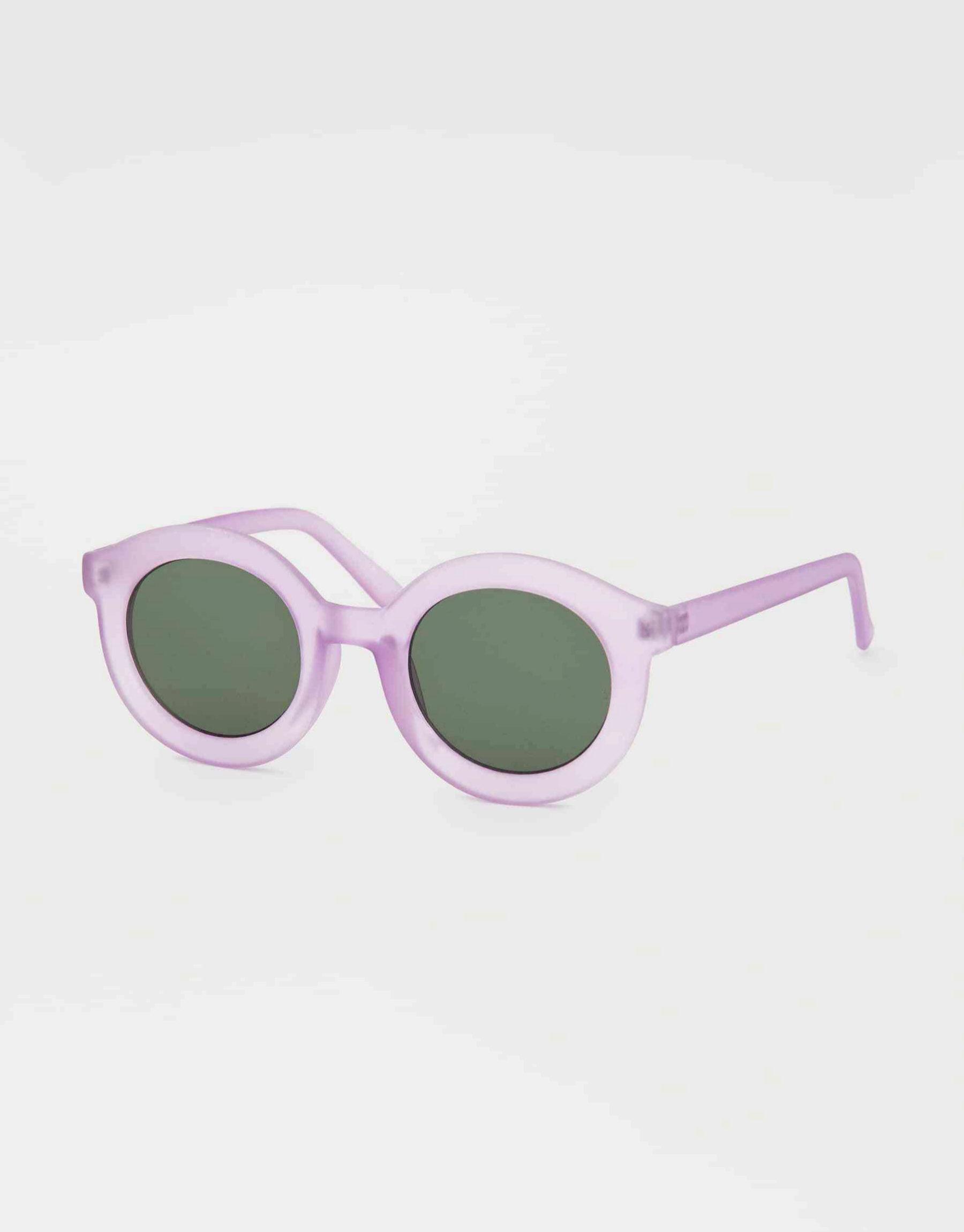 Gafas de sol en pasta color violeta de Pull & Bear