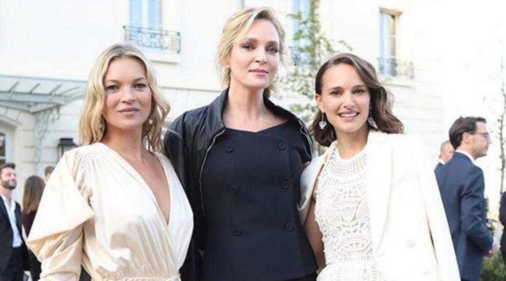 Kate Moss, Natalie Portman y Uma Thurman en la fiesta de  Moët &...