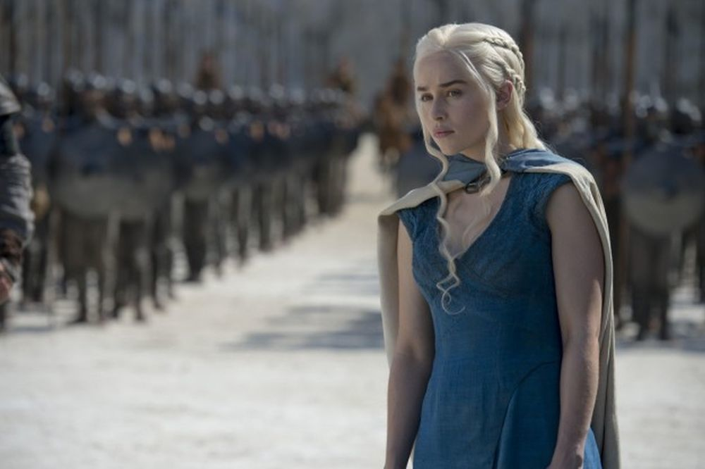 Daenerys con el ejército.