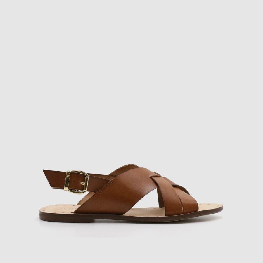Sandalias con tira ancha de cuero de Alohas Sandals