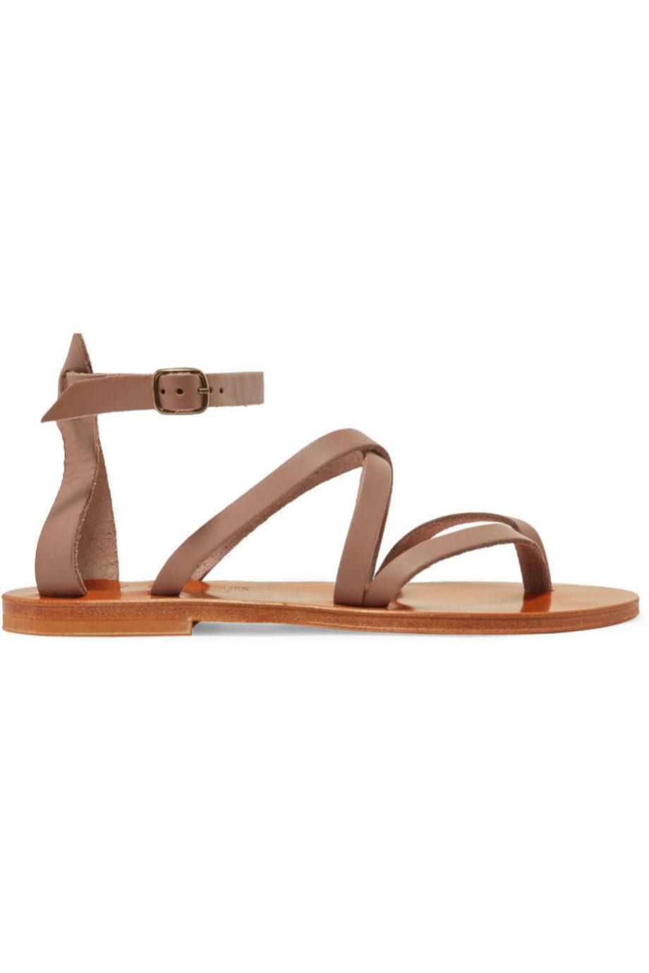 Sandalias de piel K Jacques Saint Tropez para Net a Porter