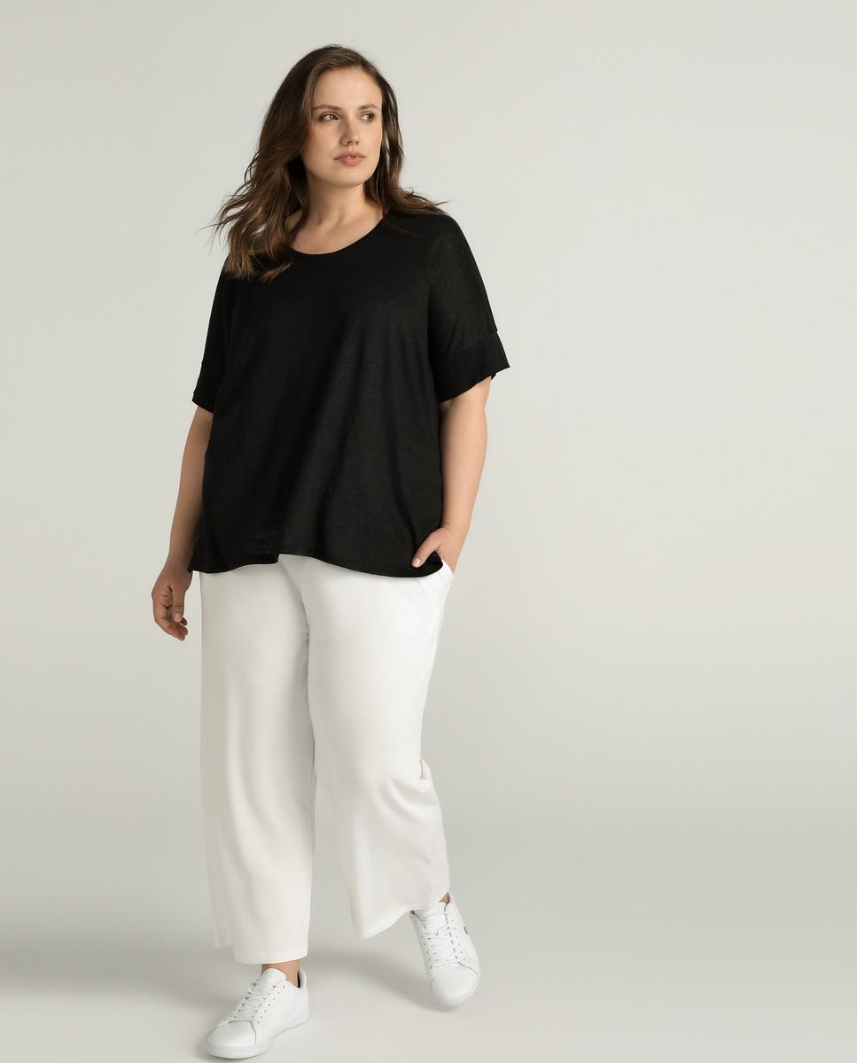 Pantalón amplio blanco