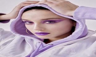 Para la mirada ultravioleta de María Pedraza utilizamos la máscara...