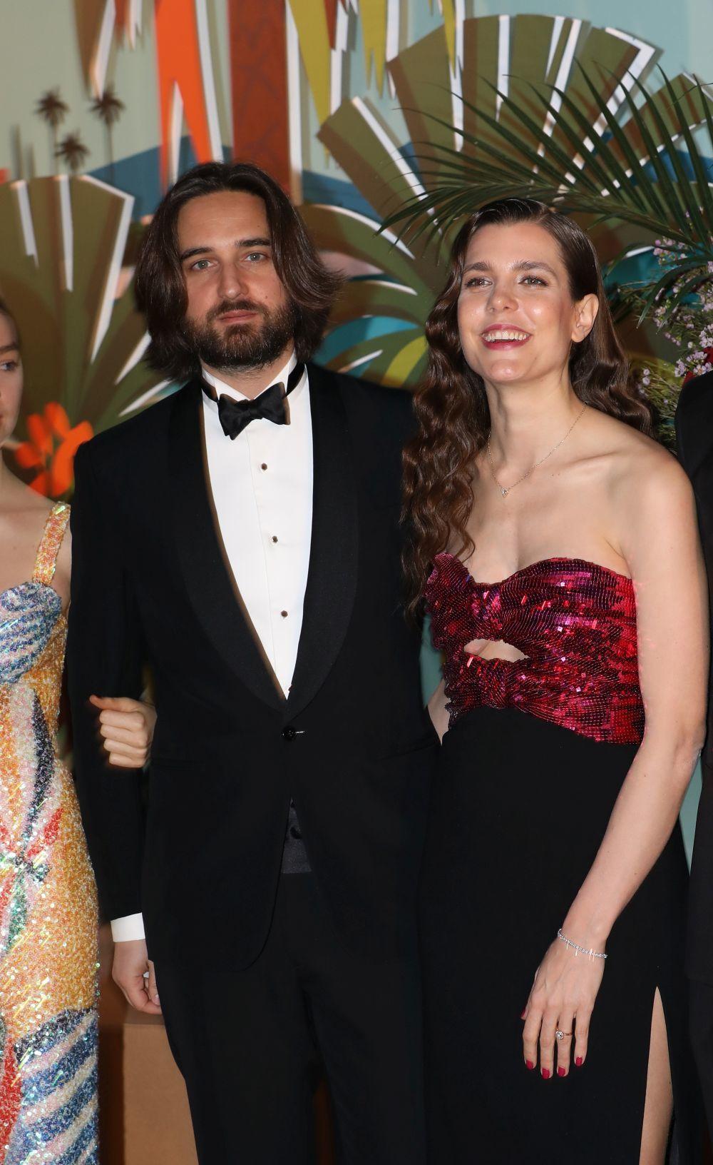 Carlota Casiraghi y Dimitri Rassam en el Baile de la Rosa 2019.