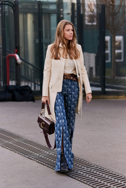 Los pantalones palazzo estampados o cómo triunfar con un estilismo