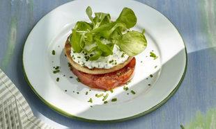 Una perfecta cena para celíacos sería una hamburguesa de pescado...
