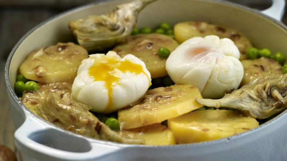 Huevos a la flamenca.